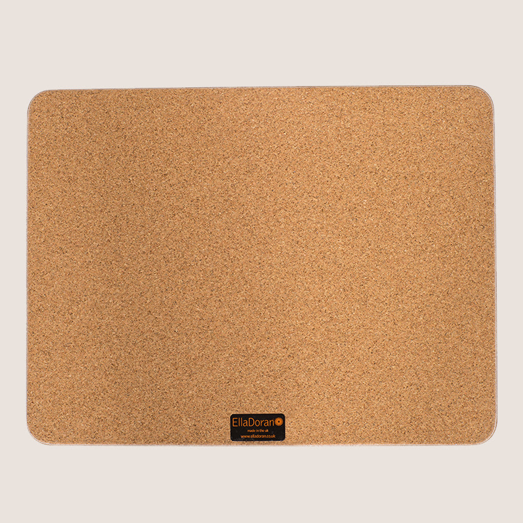 Sevens Taupe large tablemat