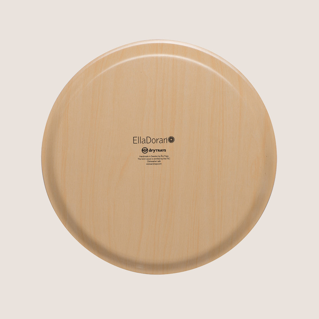 Sevens Red XL round tray