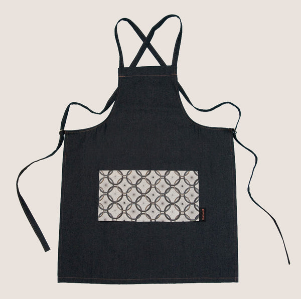 Bike Wheel Repeat apron