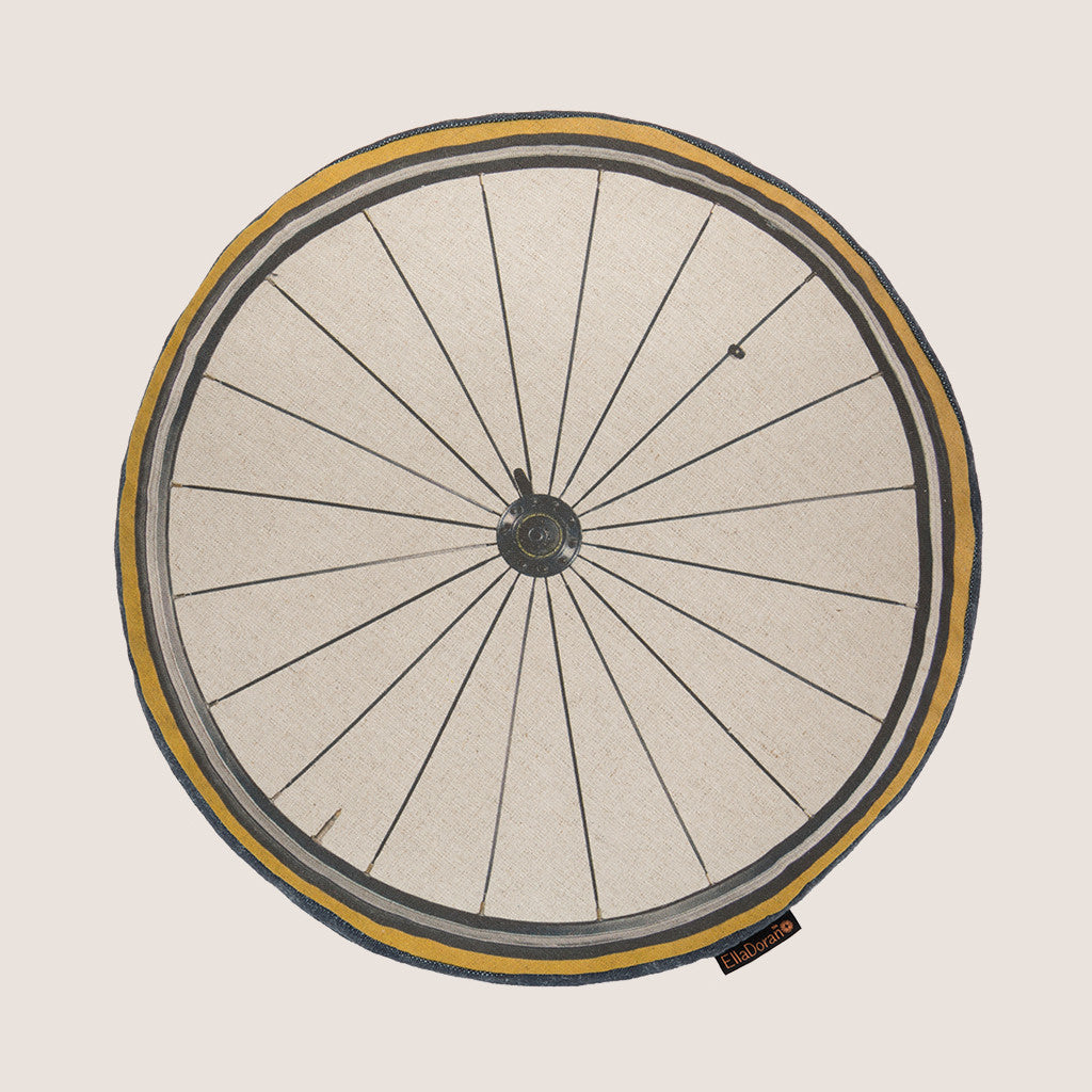 Bike Wheel Natural cushion with gusset