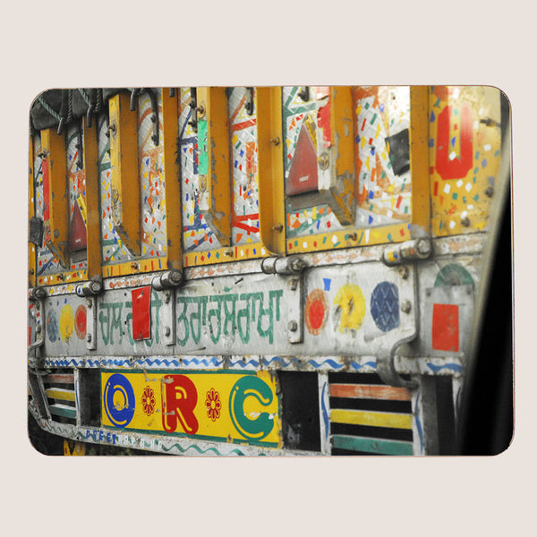 Delhi Days large tablemat