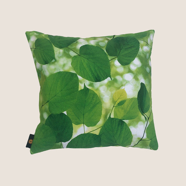 Sunlight Through Leaves cushion -