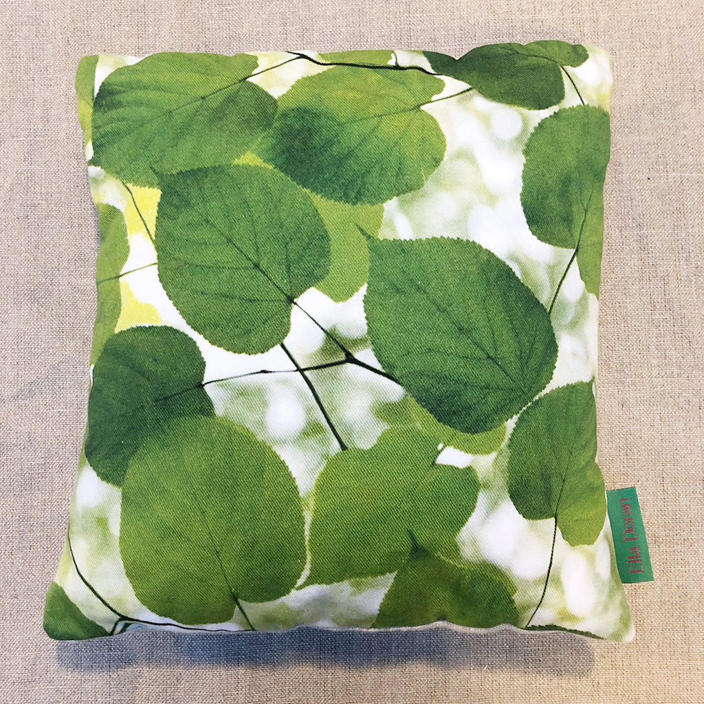 Sunlight Through Leaves small cushion