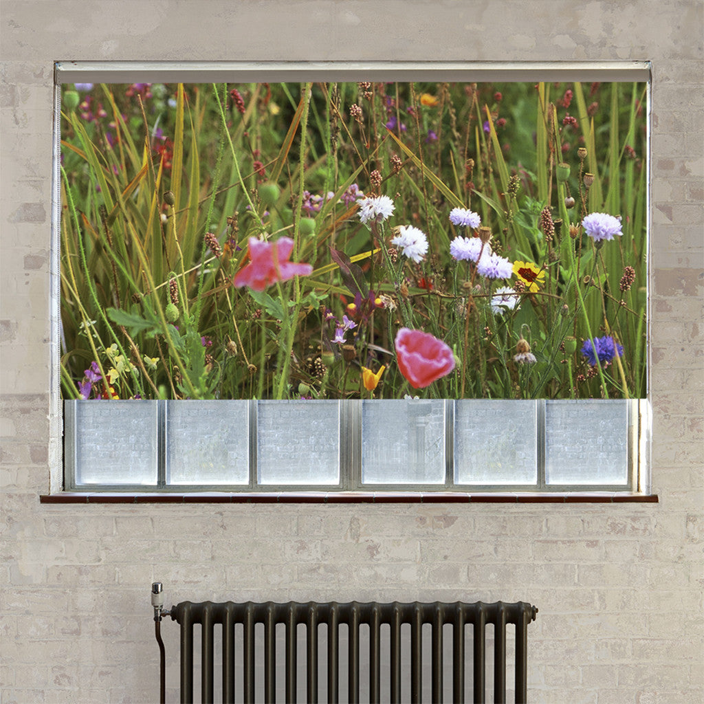 Meadow roller blind