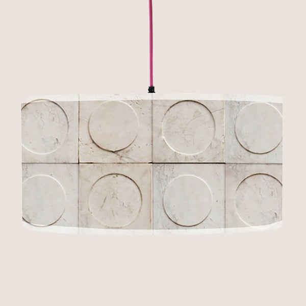 "Paris Marble 20"" lampshade"