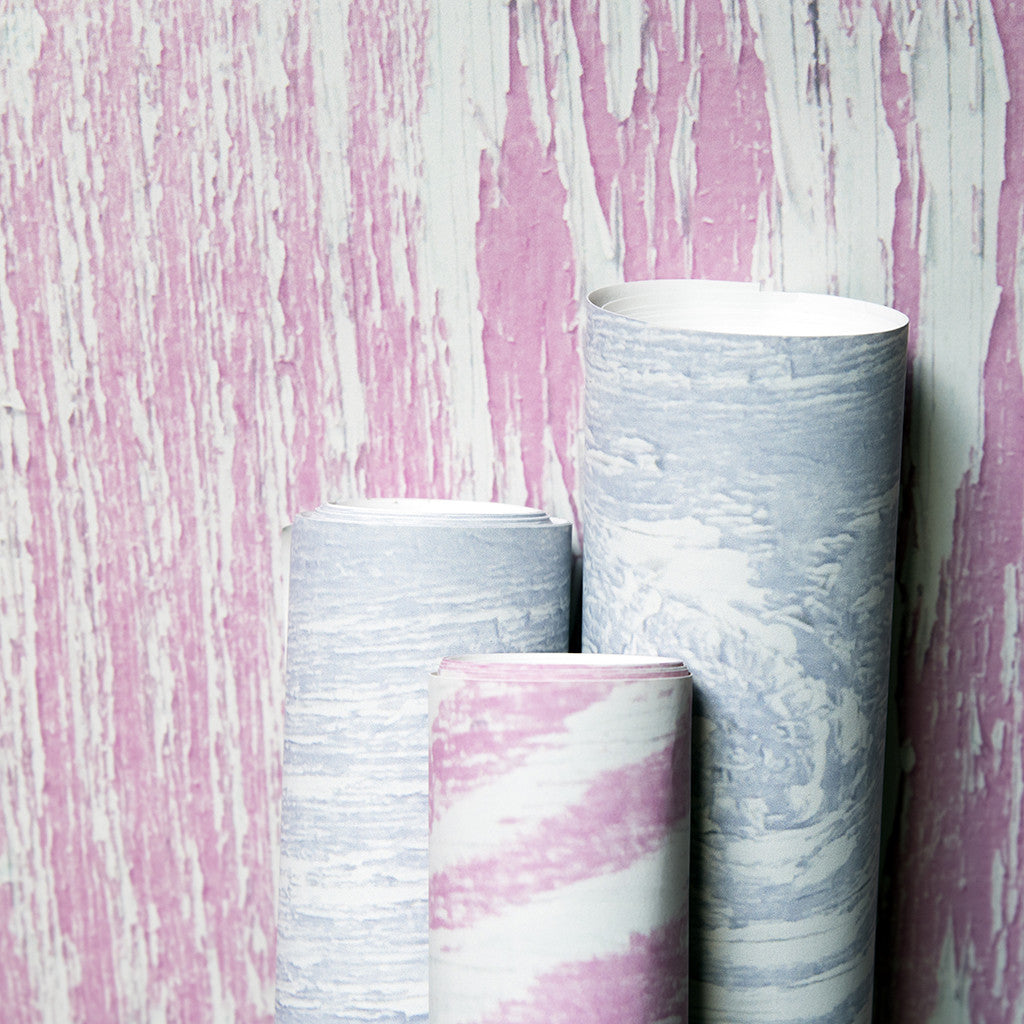 Wood Grain Pink wallpaper