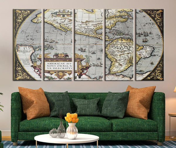 Vintage World Maps