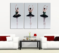 Ballerinas Canvas Print - Ballerina Art Canvas Print - Dancer Wall Art-Wall Art Canvas-Extra Large Wall Art Canvas Print-Extra Large Wall Art Canvas Print