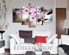 Large Wall Art CANVAS Print - Blossom Cherry Large Size Canvas Print, Almond Tree Canvas Print, Botanical Decor Theme-Wall Art Canvas-Extra Large Wall Art Canvas Print-Extra Large Wall Art Canvas Print