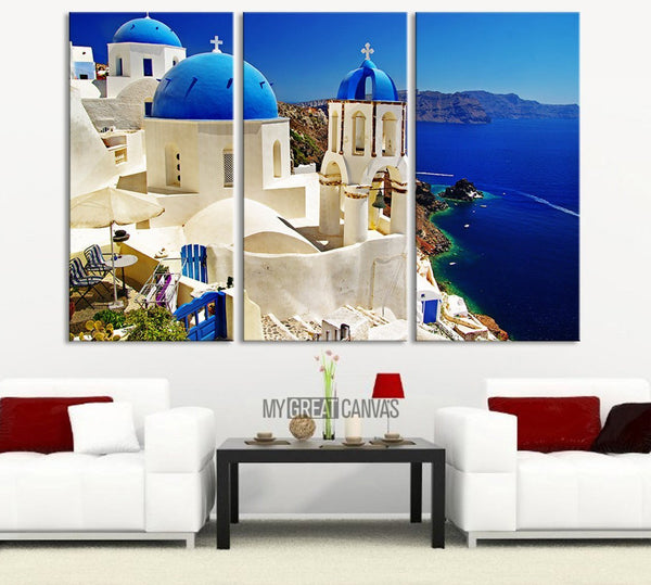 Santorini Wall Art