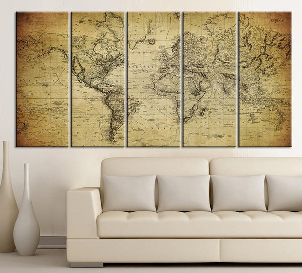 Old & Antique World Maps