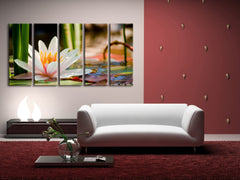 Wall Art Water Lily Large Canvas Print art,home Decor, Ready to Hang, Calla Canvas Prints wall decoration, original canvas printing-Wall Art Canvas-Extra Large Wall Art Canvas Print-Extra Large Wall Art Canvas Print