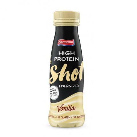 Ehrmann High Protein Shot Vanilla 200ml - FitStyle.no