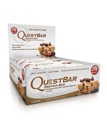 Quest Bars Cookie dough 12x60g - FitStyle.no