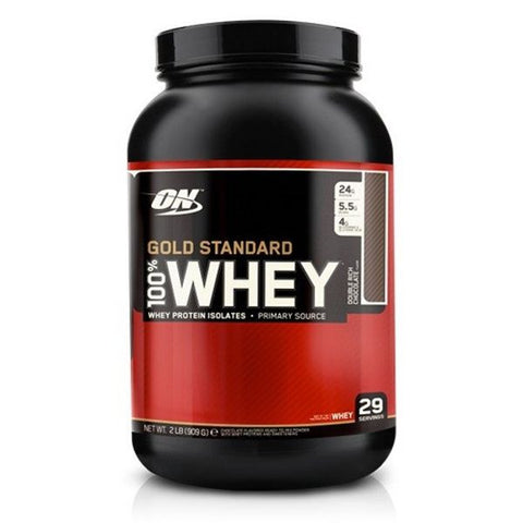 Optimum Nutrition 100% Whey Gold Standard - Chocolate 908g - FitStyle.no