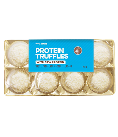 Proteintrøfler White Chocolate Coconut 80g