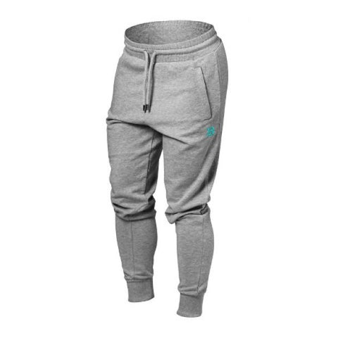 Better Bodies Jogger Sweat Pants - Grey Melange - FitStyle.no