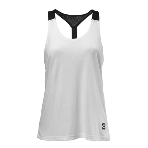 Better Bodies Loose Fit Tank - Hvit - FitStyle.no