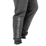 Better Bodies Soft Tapered Pants - Antracite Melange - FitStyle.no
