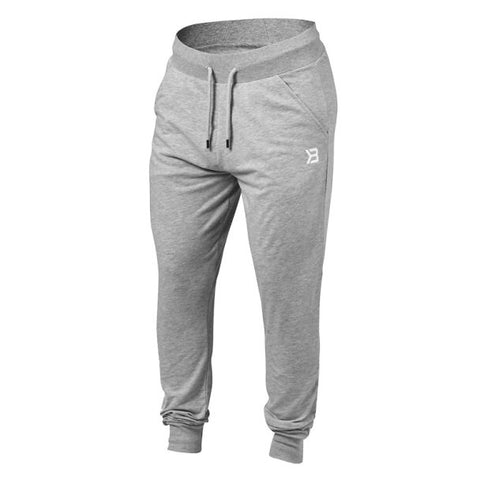 Better Bodies Soft Tapered Pants - Grey Melange - FitStyle.no