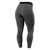 Better Bodies Astoria Curve Tights - Graphite Melange - FitStyle.no