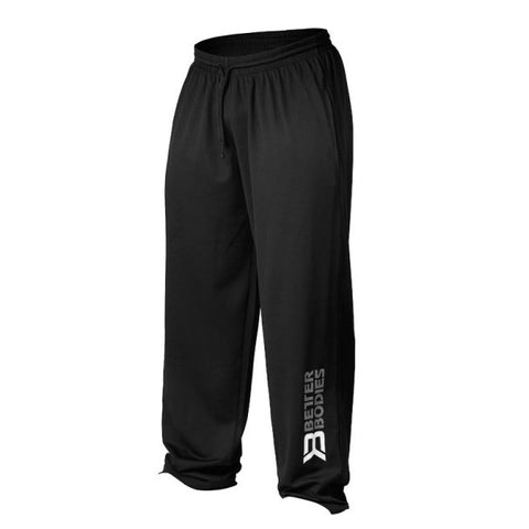 Better Bodies Mens Mesh Pant - Black