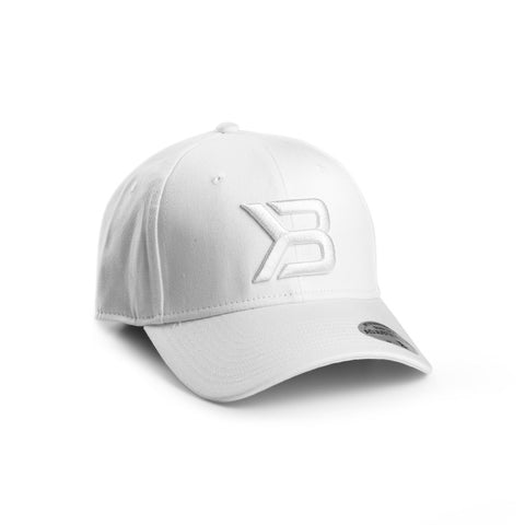 Better Bodies Womens Baseball Cap - White - FitStyle.no