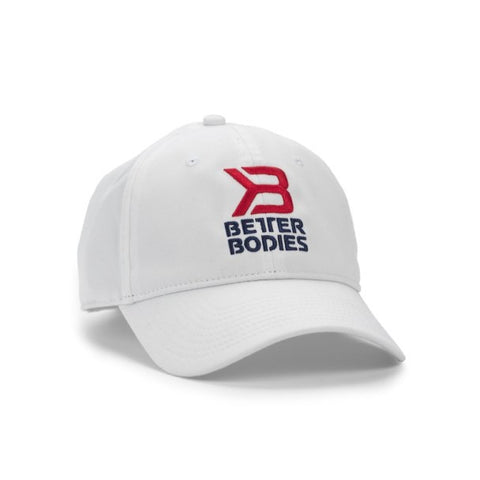 Better Bodies Brooklyn Cap White - FitStyle.no