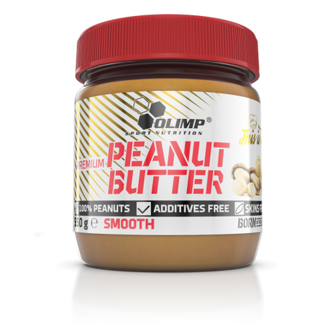 Olimp Peanut Butter Smooth 350g - FitStyle.no