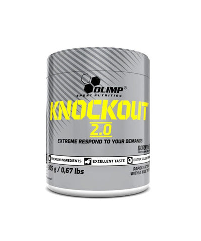 Olimp Knockout 2.0 Pre-workout 305g - FitStyle.no