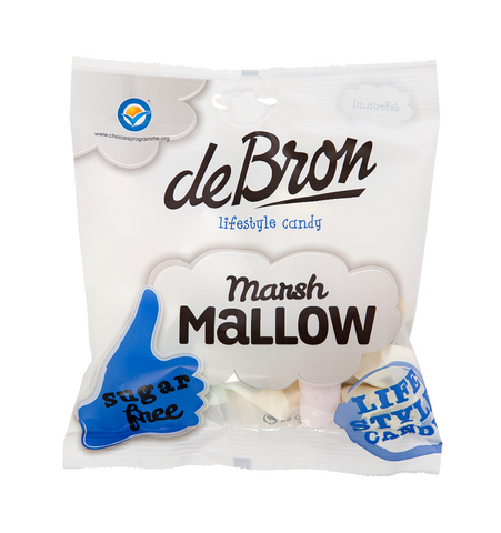 De Bron Marsh Mallow 75g - FitStyle.no