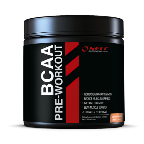 Self BCAA + Preworkout 350g - FitStyle.no