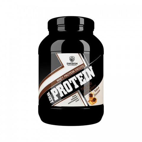Whey Protein Deluxe - Toffee And Chocolate - 1kg - FitStyle.no