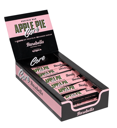 Barebells Core Bar Apple Pie 14x40g - FitStyle.no