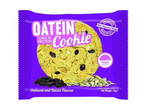 Oatein Cookies Oatmeal & Raisin 75g
