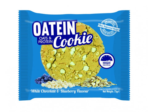 Oatein Cookies White Chocolate & Blueberry 75g