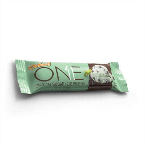 Oh Yeah ONE Bars Chocolate Mint 60g - FitStyle.no