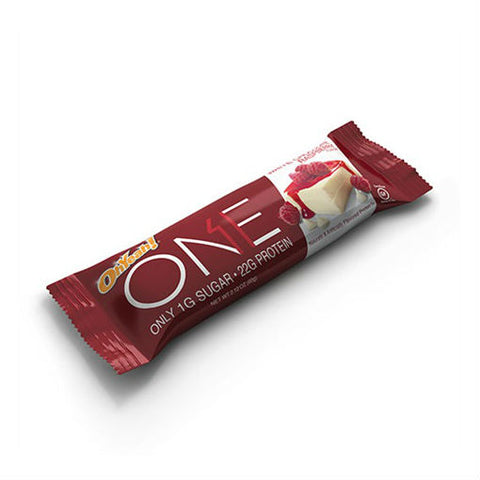 Oh Yeah ONE Bars White Chocolate Raspberry 60g - FitStyle.no