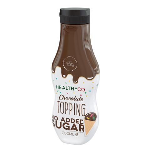 Healthyco Topping Chocolate 250ml - FitStyle.no
