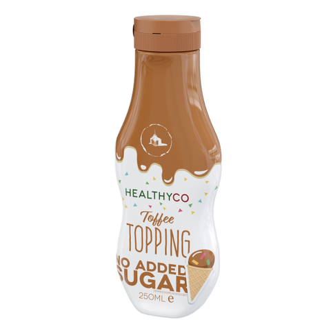 Healthyco Topping Toffee 250ml - FitStyle.no