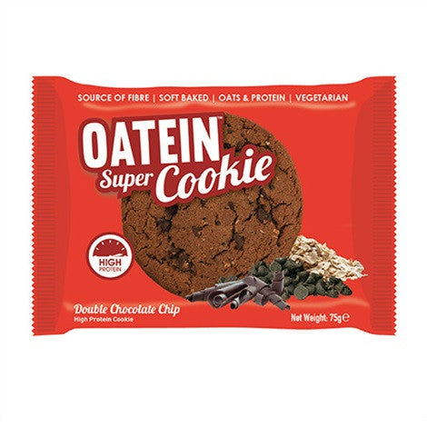 Oatein Super Cookies Double Chocolate Chip 75g - FitStyle.no