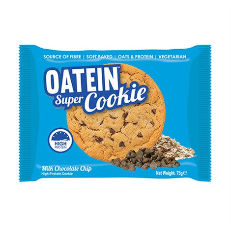 Oatein Super Cookies Milk Chocolate Chip 75g - FitStyle.no