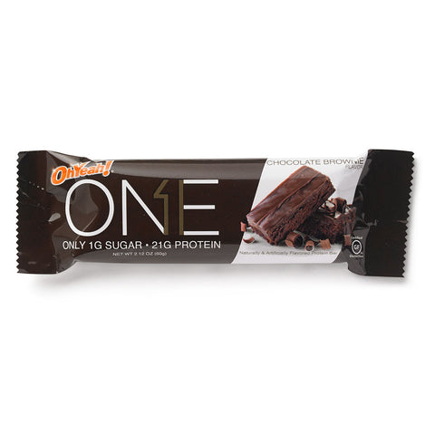 Oh Yeah ONE Bars Chocolate Brownie 60g - FitStyle.no
