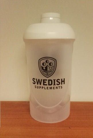 Shaker Swedish Supplements 0,6 - FitStyle.no