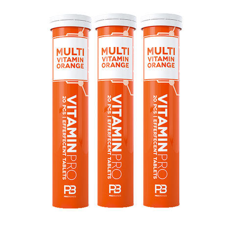 Vitaminpro Multivitamin 20tab x 12stk - Orange