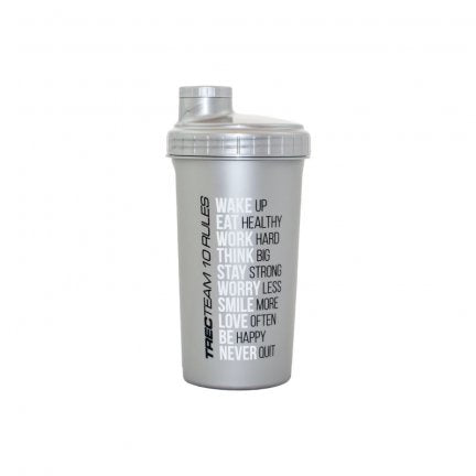 Trec Shaker 700ml - Silver - FitStyle.no