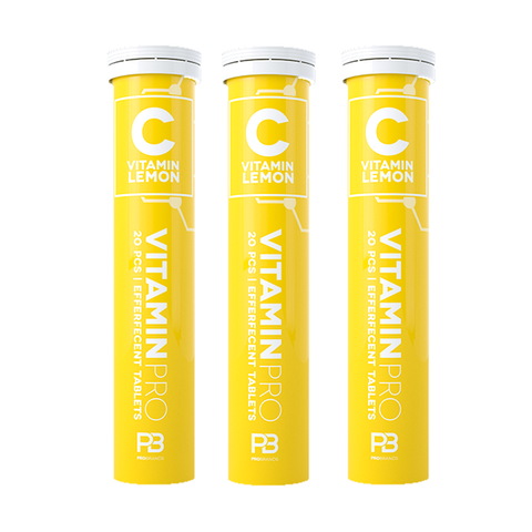 Vitaminpro Vitamin C 20tab x 12stk - Lemon