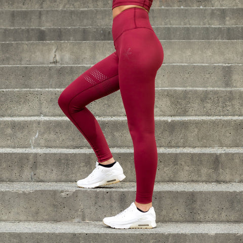 BARA Sport Wine Shape Tights - FitStyle.no