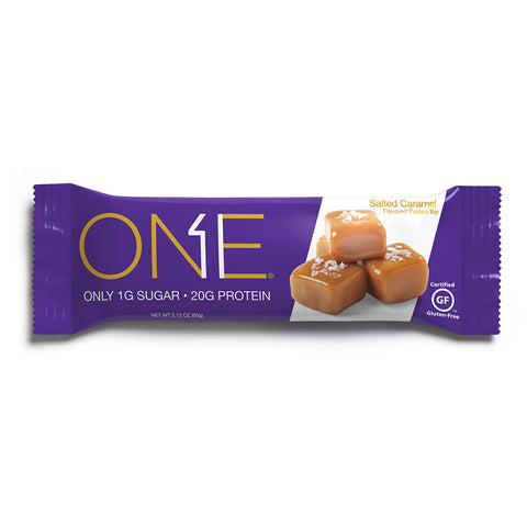 Oh Yeah ONE Bars Salted Caramel 60g - FitStyle.no