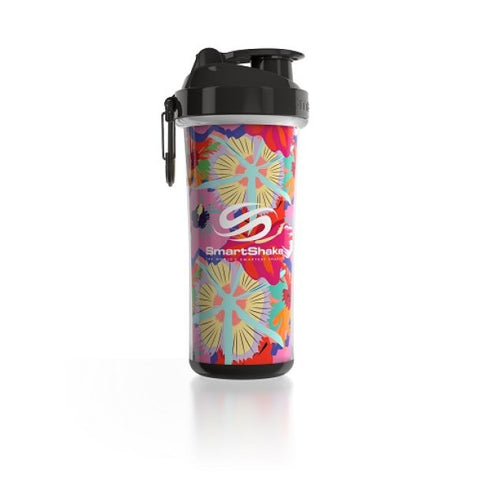 SmartShake Double Wall Flower Power 750ml